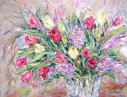 Spring Bouquet 11x14