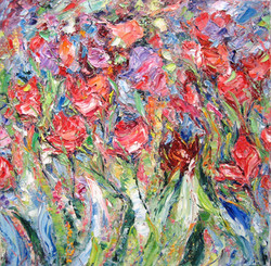 Tulips II 14x14