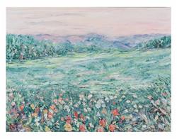 Mountain Garden 22x30