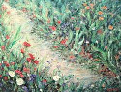 Poppy Path 24x30