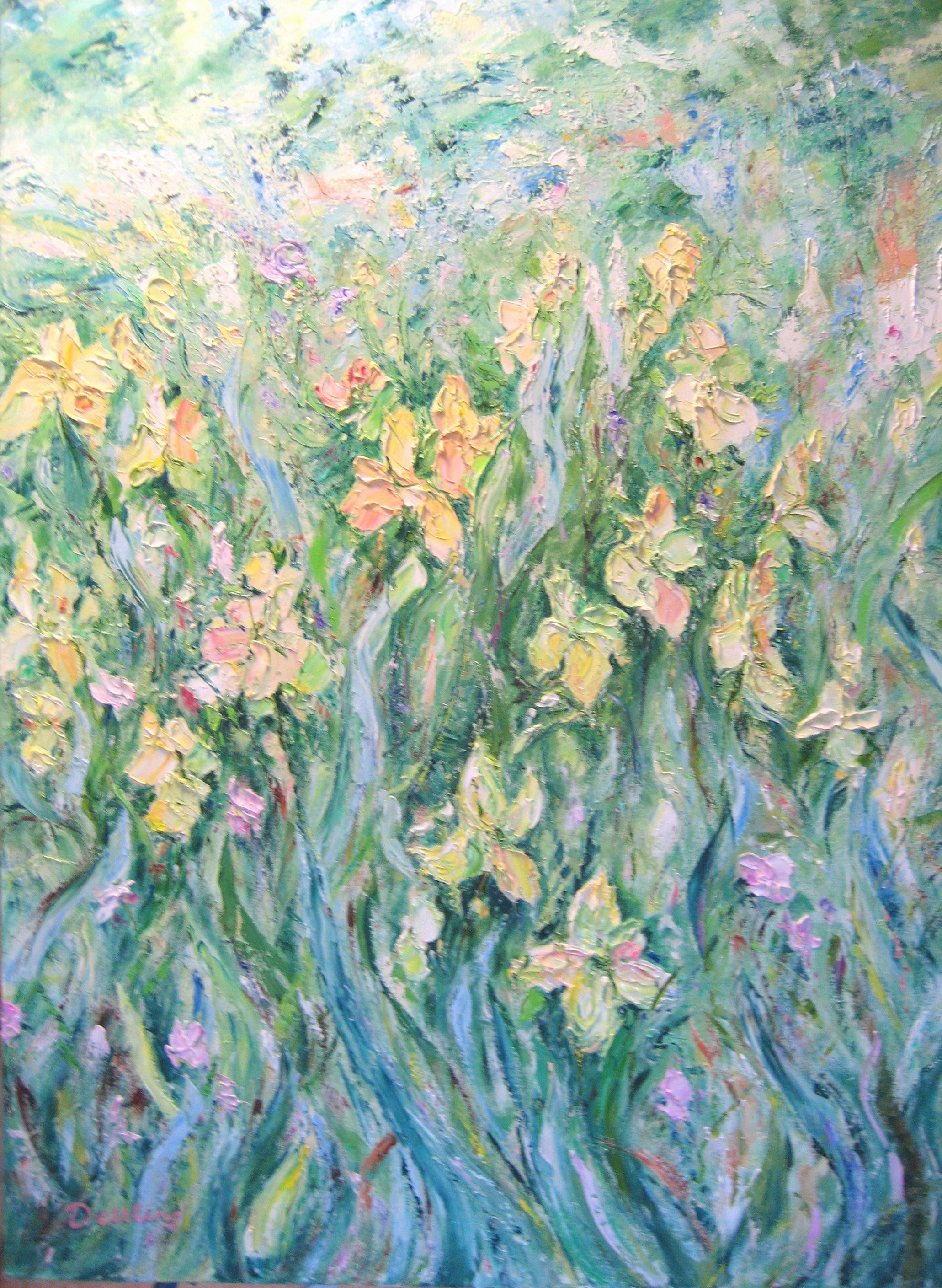 Rosemary's Yellow  40x30