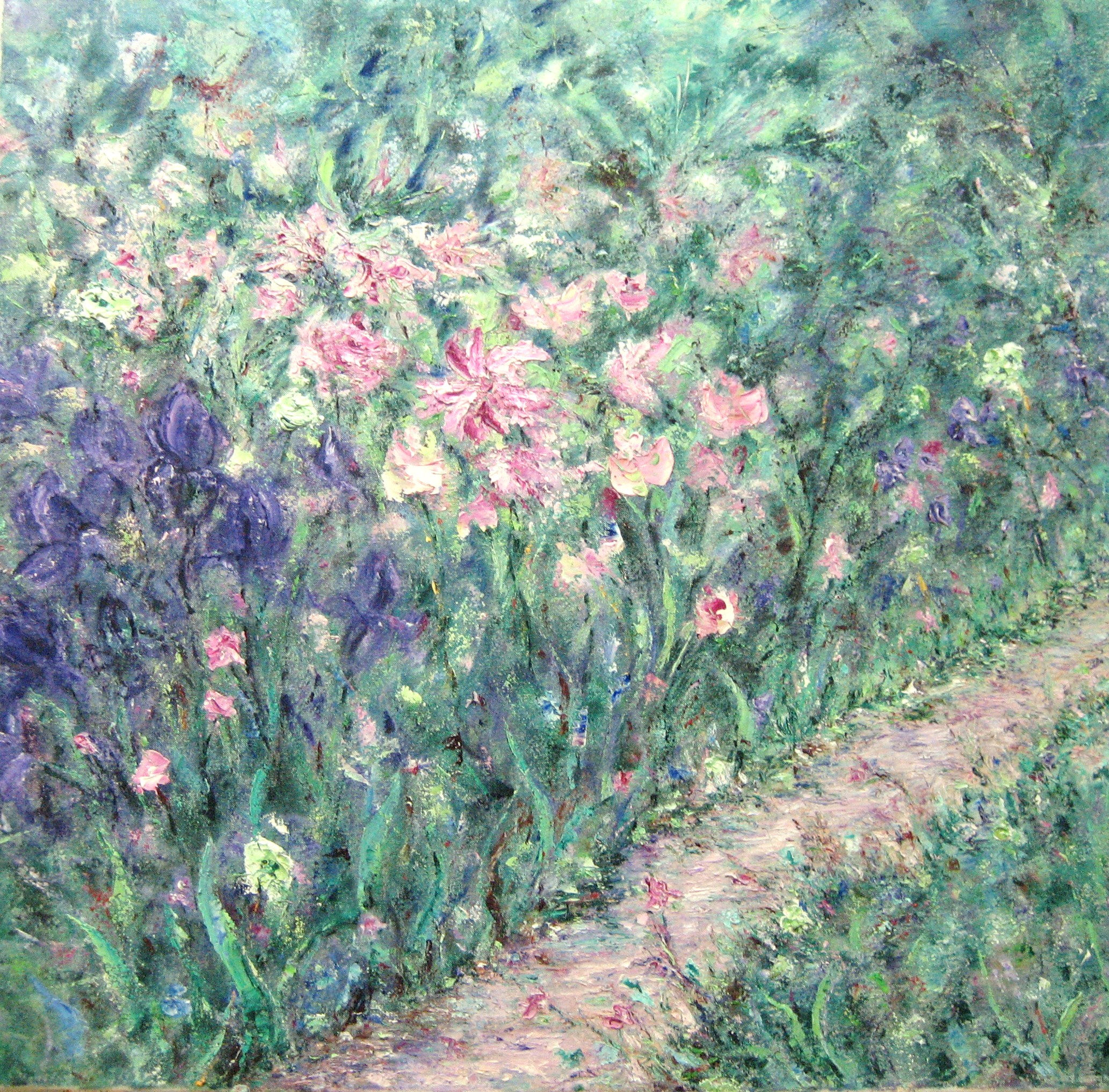 Pinks and Purples 30x30