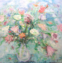 Crystal Bouquet 36x36