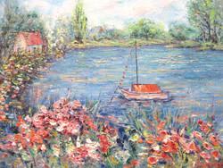River Garden 16x20
