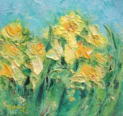 Daffodils 8x8