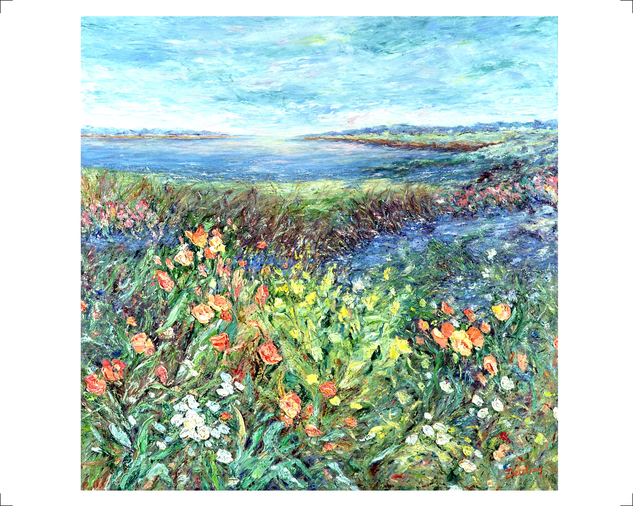 Wetlands in Bloom 40x40