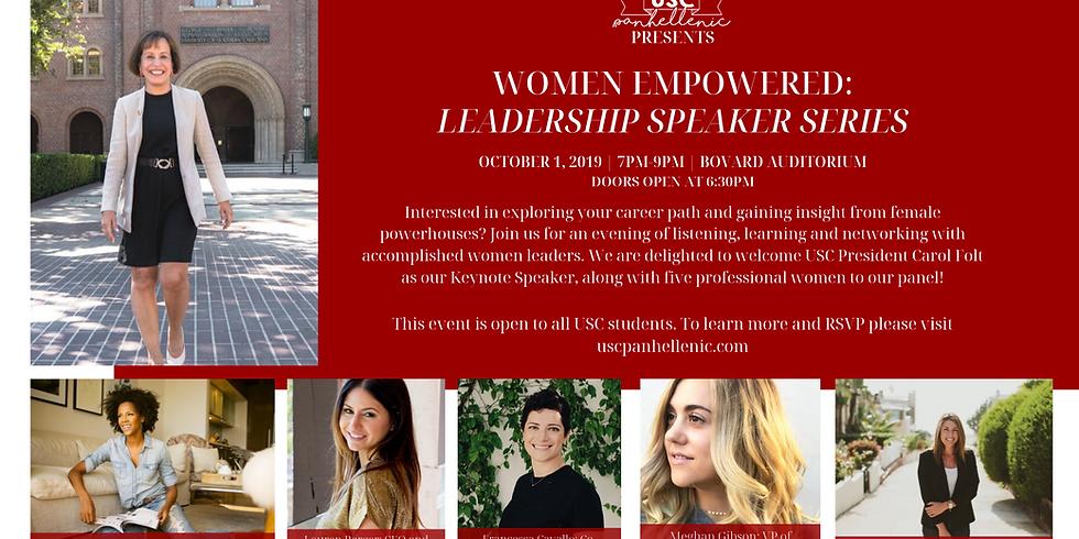 Women Empowered - Leadership Speaker Series