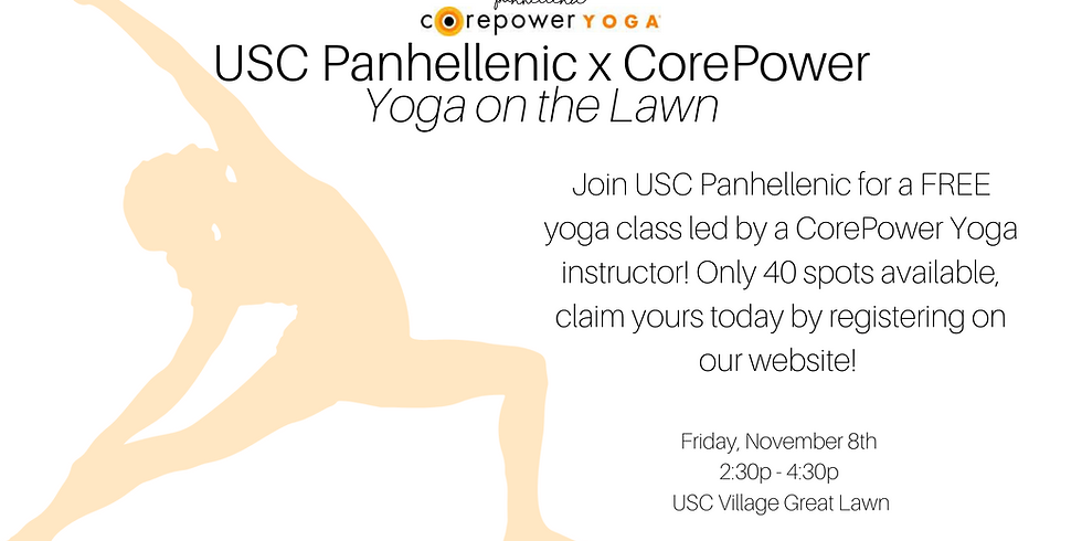 USC Panhellenic x CorePower