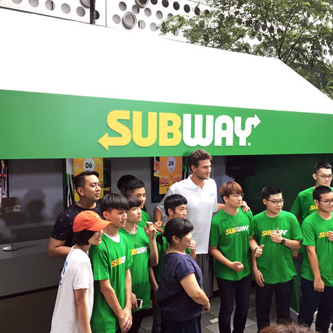 SUBWAY X NBA 3x 2019