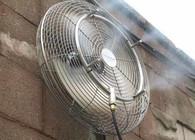 Использование тумана в сочетании с вентилятором