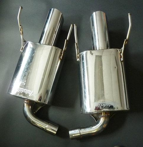 Alfa 159 3.2 V6 Stainless Steel Silencers