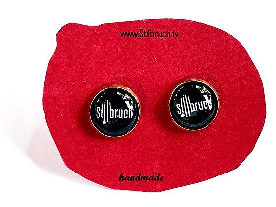 """Ohrringe """"Stilbruch"""" großer Stecker (12 mm)"""