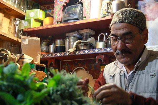 moroccan tea set shop