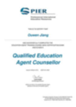 Qualified Education Agent Counsellor-Ouw