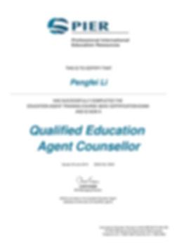 Qualified Education Agent Counsellor-Pen