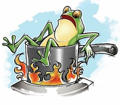 #86 - Boiled frog fable