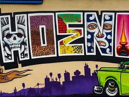 Roosevelt Row:  Local artists and fabulous food