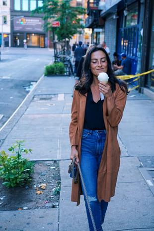 woman-wearing-brown-coat-during-daytim-e