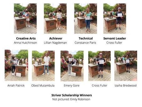 Foundation scholarship winners announced