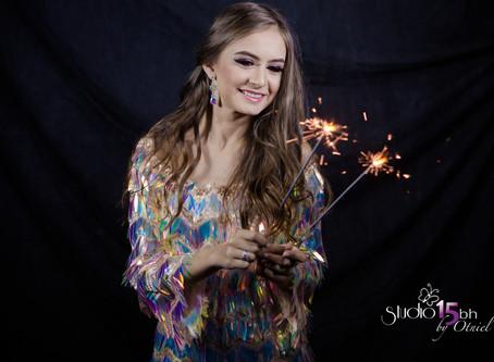 BOOK de 15 anos da debutante Maria Laura