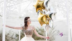 Fotos de book de 15 anos com balões