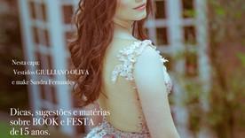 Ela ganhou a promoção, e saiu na capa da REVISTA DEBUTANTES DE MINAS