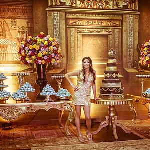 15 ANOS LARISSA - TEMA EGITO