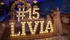 Festa de 15 anos da debutante Lívia