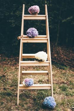 Poročna dekoracija, poroka v naravi