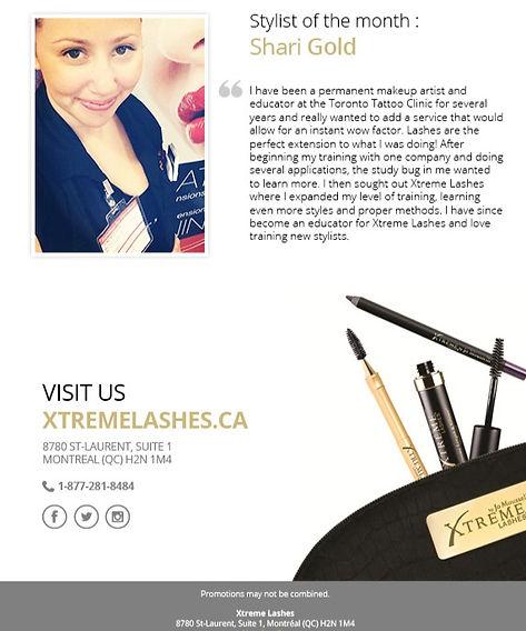 Xtreme Lashes, Xtreme, eyelash extensions, permanent makeup, toronto, aurora, canada, beauty, products, lashes, mink, eyes, makeup