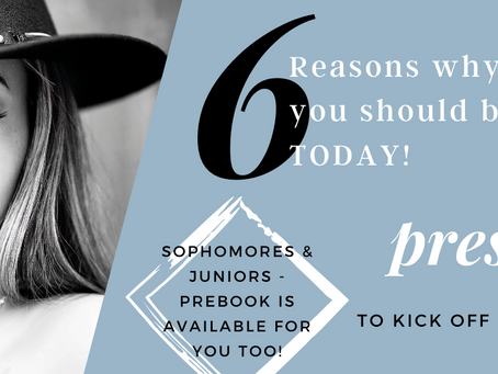 Best Time to Book Your Senior Session?!