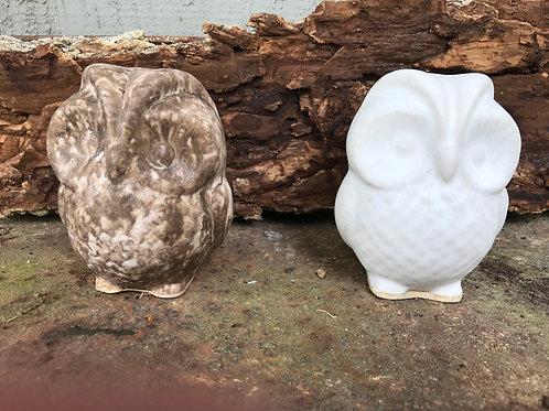 Small Delta C Ceramic Owl