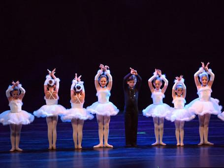 Beginner dancers in first recital 2018