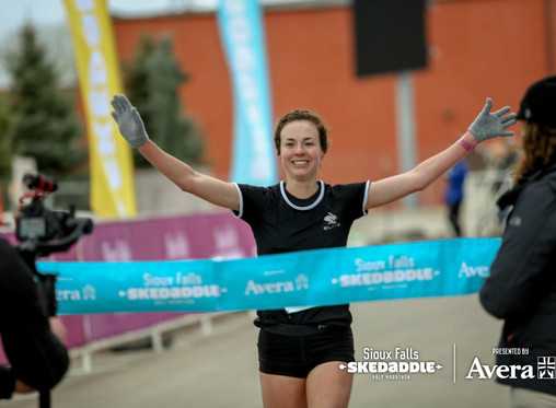 Two Laps 2nd Edition, with DDP's newest runner, Emily Renner