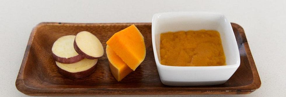 Sweet Potato & Butternut with Yoghurt – 80gr