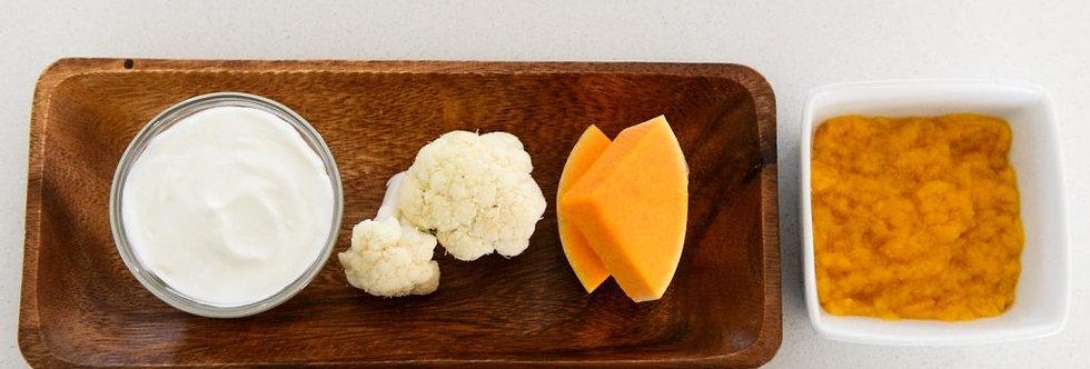 Butternut & Cauliflower with Yoghurt – 80gr