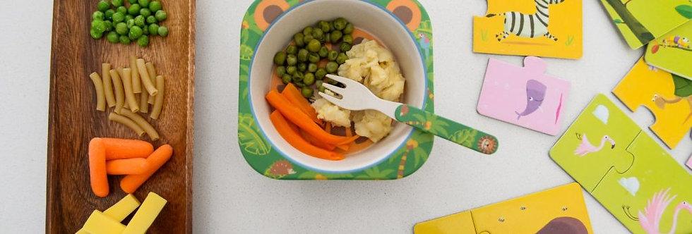 Macaroni & Cheese, Carrot & Peas – 150gr