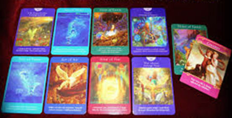 Angel Tarot Readings offered by inspiring intuitive Kate Jones, Alexandria, Virginia