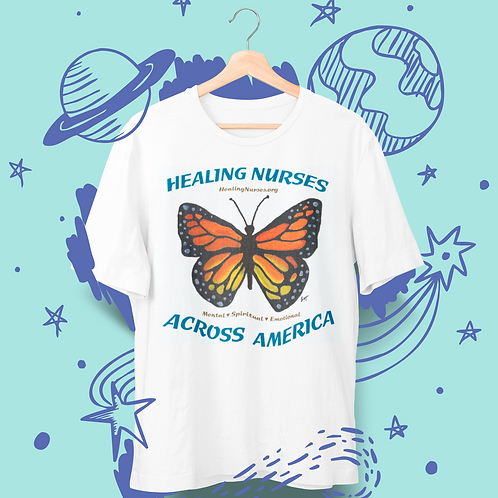 """Healing Nurses"" Butterfly Design 2"