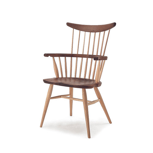 Comb back armchair