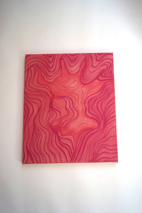 Infinity painting, Pink