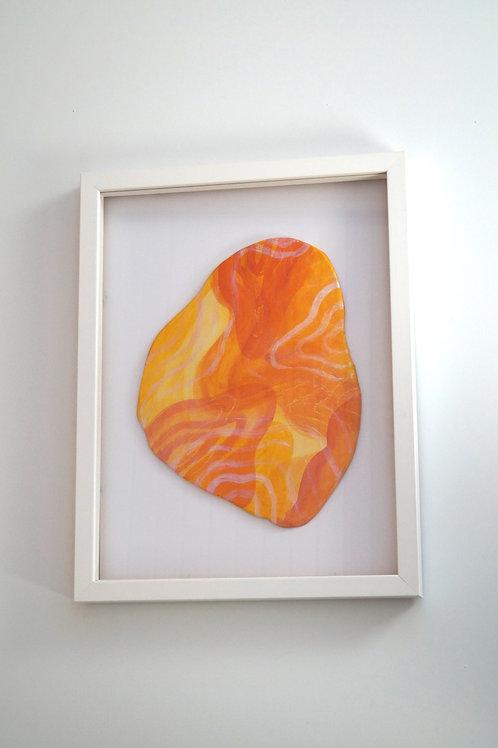 Ceramic Universe - orange and yellow