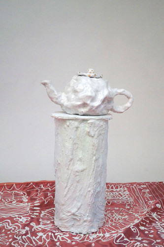 A cloudy cup of teapot