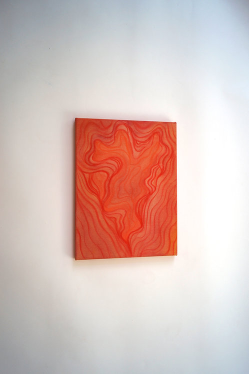 Infinity Painting, Orange