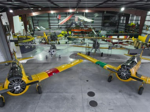 10,000 + Sq. Ft. Hangar For Sale at Old Warbird Adventures Museum