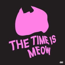 TIME IS MEOW FLAG