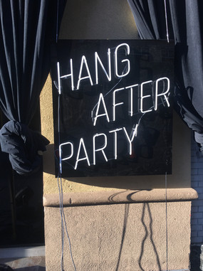 HANG AFTER PARTY
