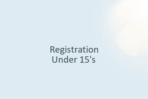 Registration - Under 15.5's