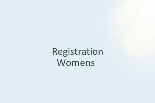 Registration - Womens