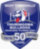 Thuringowa AFC - Logo 50 Years - Final D